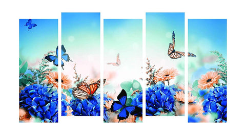 Beautiful Butterfly Multiple Panels Painting