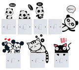 Cute Baby Panda Wall Sticker