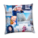Personalised Cotton Cushion Cover - Multicolour