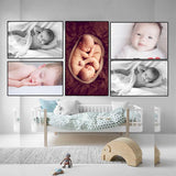 Cute Baby Combo Poster Set of 5 Poster