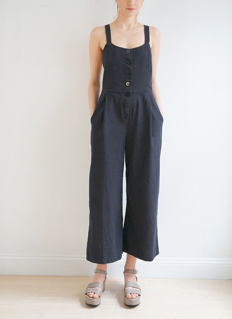 CARLOTTA JUMPSUIT (BLACK)