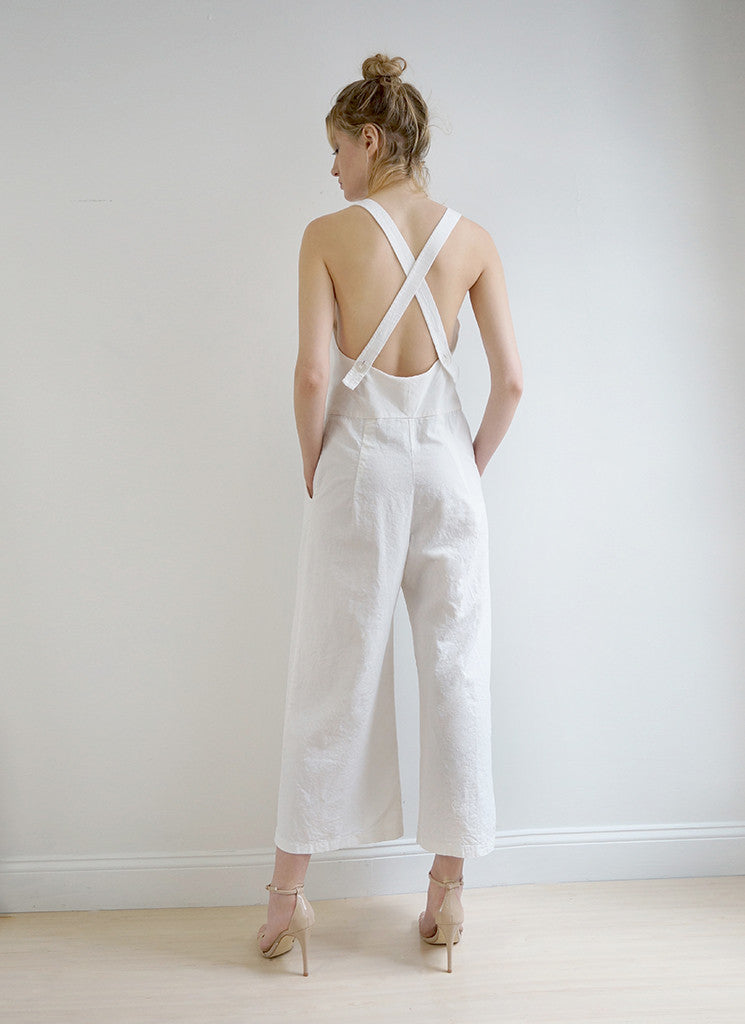 CARLOTTA JUMPSUIT (CREAM)