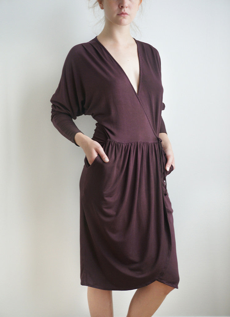 DELILAH DRESS (Black Cherry)