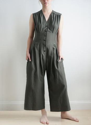 KENSHO JUMPSUIT (Pewter)