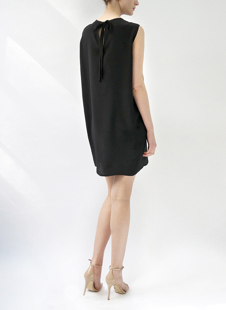 ESME SHIFT DRESS (BLACK)