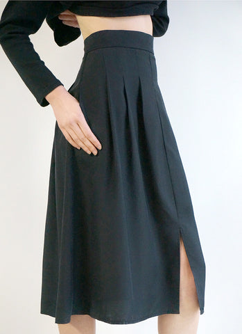 ESSEX SKIRT (BLACK)