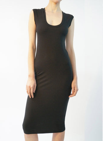 VAVARA DRESS (BLACK)