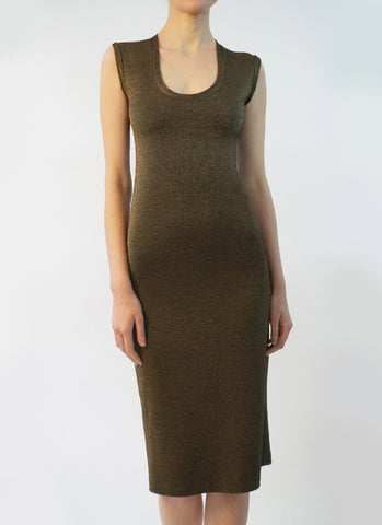 VAVARA DRESS (GOLD DUST)