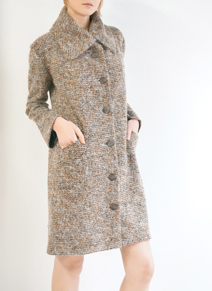 AUSTEN COAT (COPPER MOHAIR)