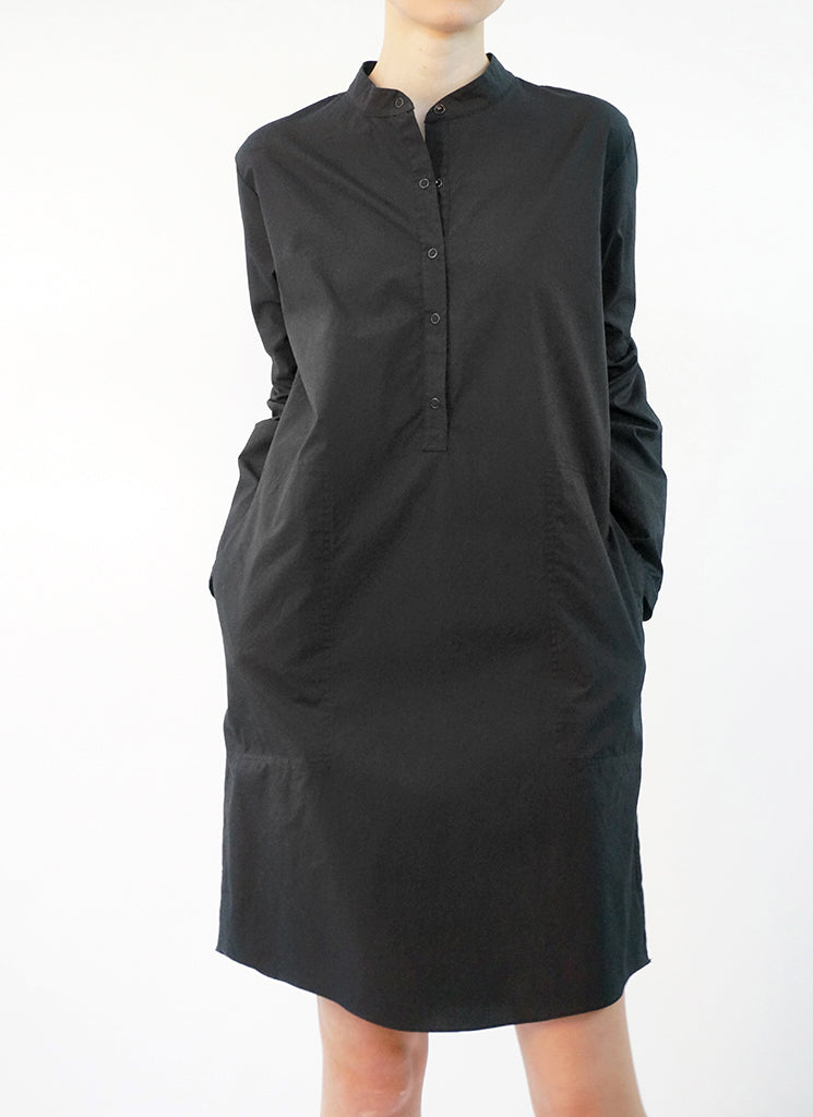 PRECITA TUNIC DRESS (BLACK)