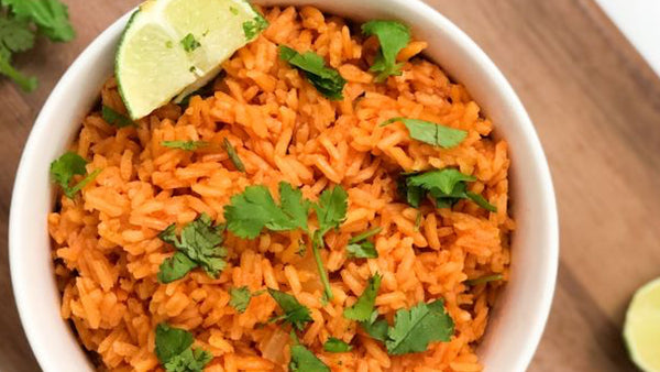 Easy Spanish Rice with Sincerely Denise - Friends of Franky