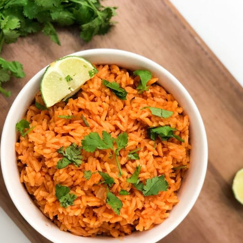 Easy Spanish Rice Recipe with Sincerely Denise
