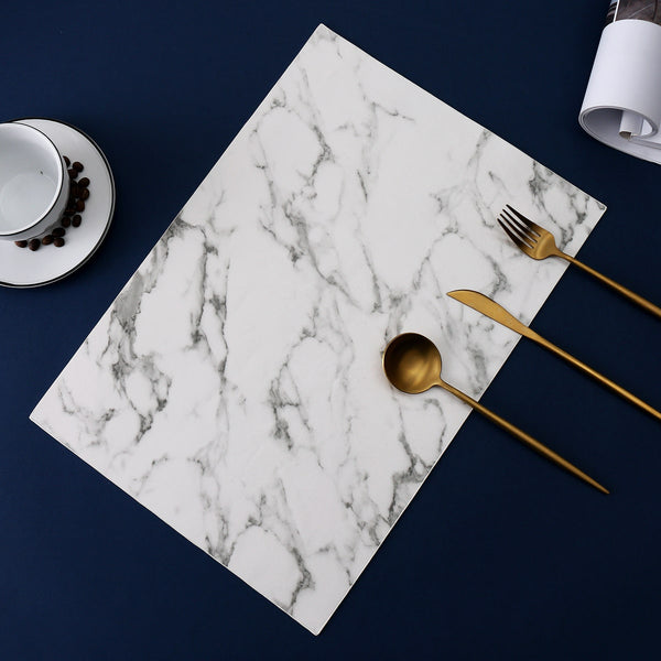 Carrara Marble Placemat | Shop Tableware Online