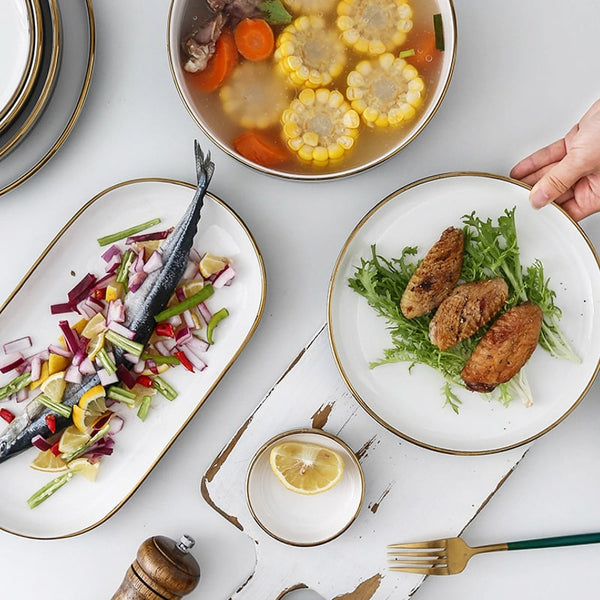 Stockholm Dinner Set | Shop Dinner Plates & Bowls Online