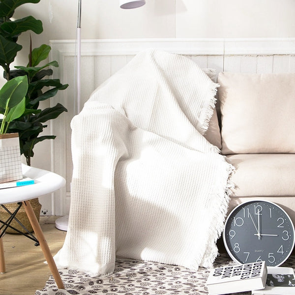 Hamptons Honeycomb Throw Blanket