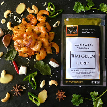 Thai Green Curry Marinade - For ALL Seasons