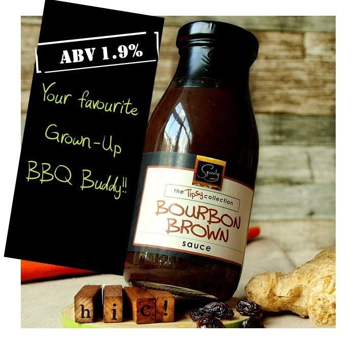 Gift Wrapped Luxury Bourbon Brown Sauce