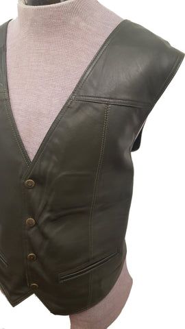 Men's Country Western Country Soft Touch Leather Vest