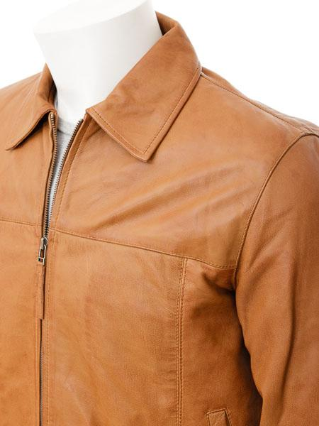 Men's Leather Straight Jacket