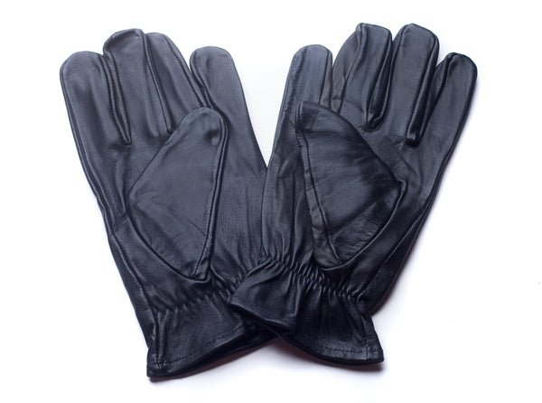 back of unlined leather gloves unisex