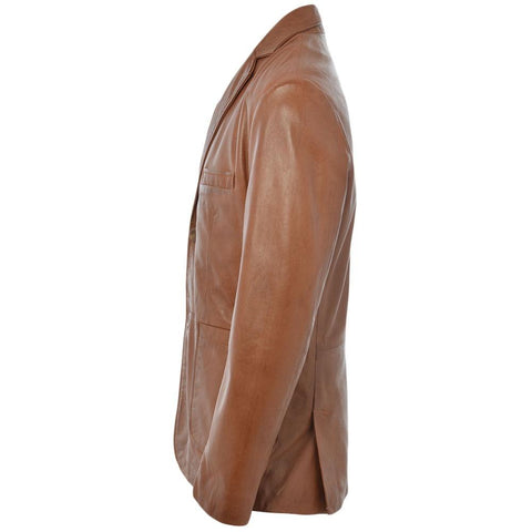 Men's Western Country Southern Leather Blazer