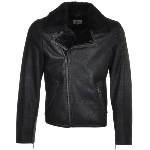 Men's Sheepskin Leather Pilot Jacket