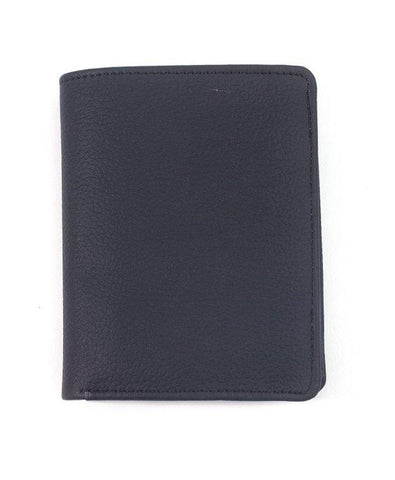 Men's Globe Trotter Top Grain Buffalo Leather Trifold 3 ID Wallet