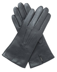 Womens Elegant Slim Leather Gloves Lined