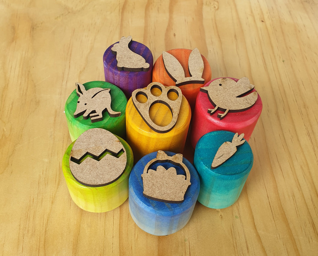 Easter Playdough Stampers