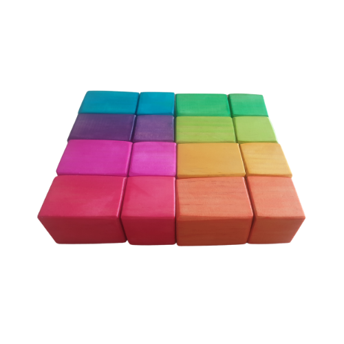 Rainbow Bricks
