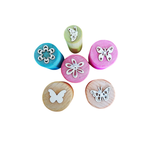 Butterfly Beauty Playdough Stampers