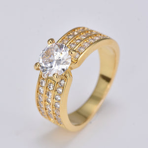 18kr036 2018 Carnie Rings Manufacturers Unique 18k Gold Plated