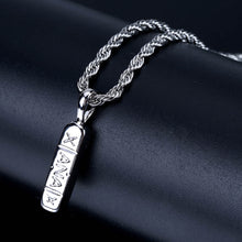 XANAX Men's Necklace Gold-plated Hip-hop Pendant Factory Direct Wholesale - QJ jewelry