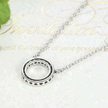 925 sterling silver factory wholesales Fashion ring pendant necklace for couple - QJ jewelry