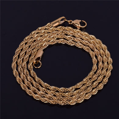 Men's Hip Hop Rapper's Chain 3mm 18