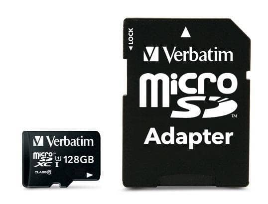 VERBATIM - MEMORIE FLASH - 44085 - Verbatim Premium memoria flash 128 GB MicroSDXC UHS-I Classe 10 - Gaming Distribution