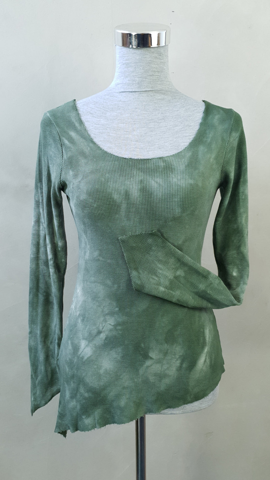 Evergreen Woodland Pixie Sleeve Top