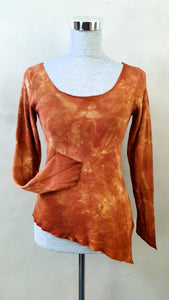 Rust Woodland Pixie Sleeve Top