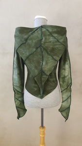 Medium Forest Pixie Crop Hoodie