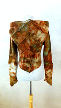 Load image into Gallery viewer, Medium Forest Pixie Crop Hoodie