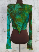 Load image into Gallery viewer, Labradorite Pixie Wrap Top