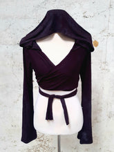 Load image into Gallery viewer, Moonshadow Pixie Wrap Top
