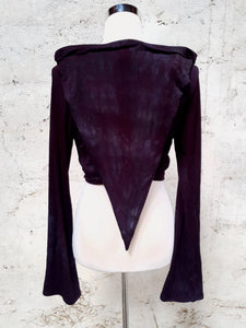 Moonshadow Pixie Wrap Top