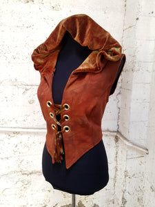 Scorched Earth Pixie Vest