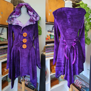 Velour Pixie Coat