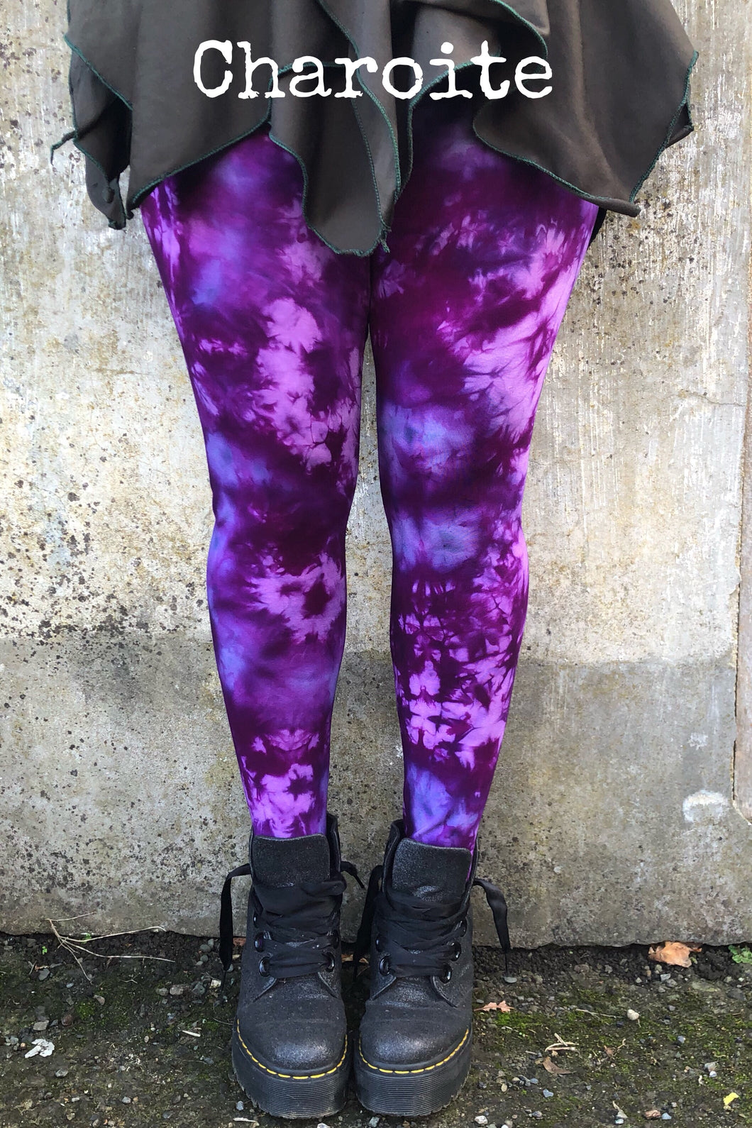 Charoite Pixie Leggings