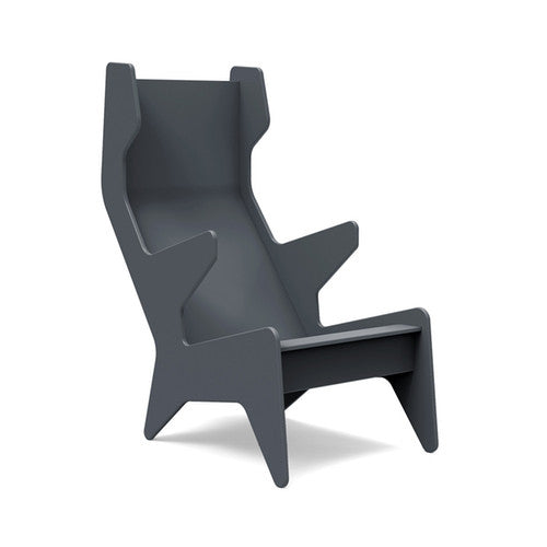 Ralph Rapson Cave Chair Loll Designs Charcoal Grey