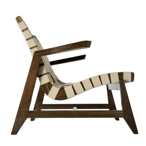 Ralph Rapson Greenbelt Lounge Chair in Walnut