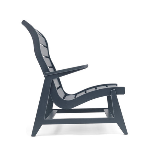 Ralph Rapson Highback Lounge Loll Designs Charcoal Grey