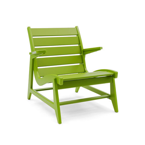 Ralph Rapson Lowback Lounge Loll Designs Apple Green